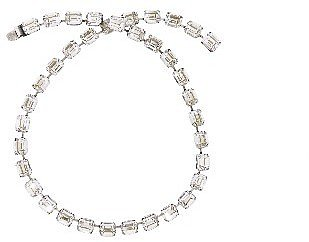 Janis by Janis Savitt Clear Crystal Necklace - 22 1/2''