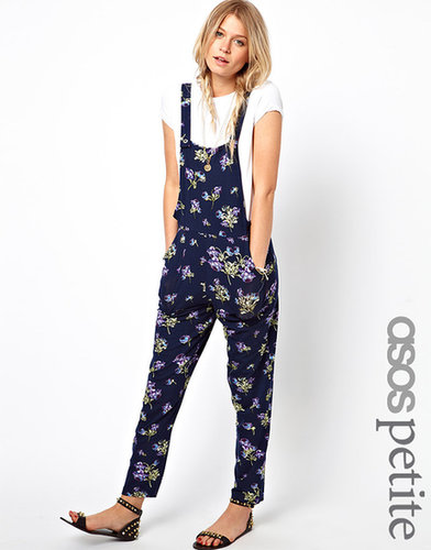 ASOS PETITE Exclusive Overalls In Floral Print