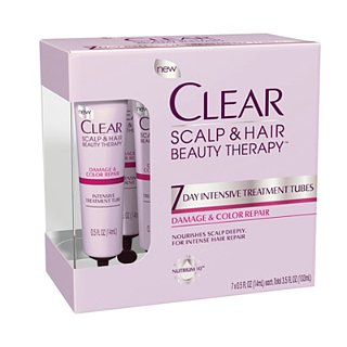 Clear Scalp and Hair Beauty Therapy Treatment Tubes Review