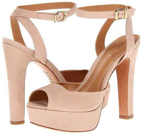 Schutz - Adelina (Oyster) - Footwear