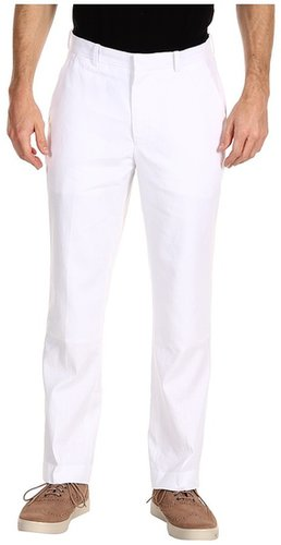Perry Ellis - Regular Fit Linen Cotton Suit Pant (Natural) - Apparel