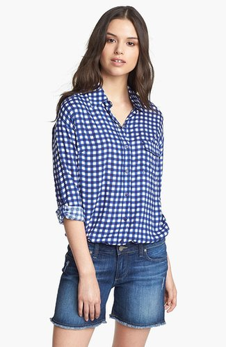 Splendid Gingham Check Shirt