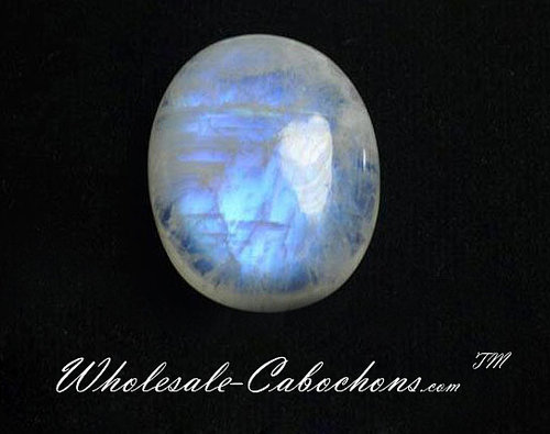 Blue Moonstone Cabochons