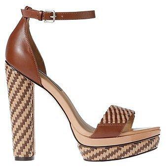 Helena Leather Platform Sandals