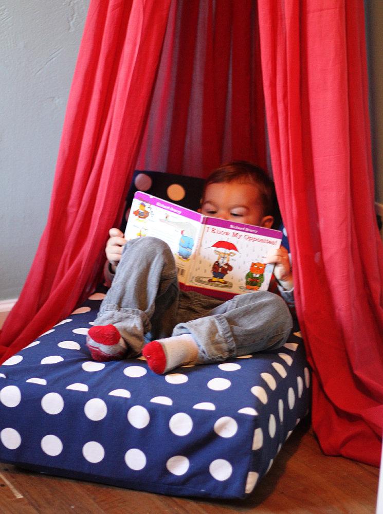 Cozy Reading Fort