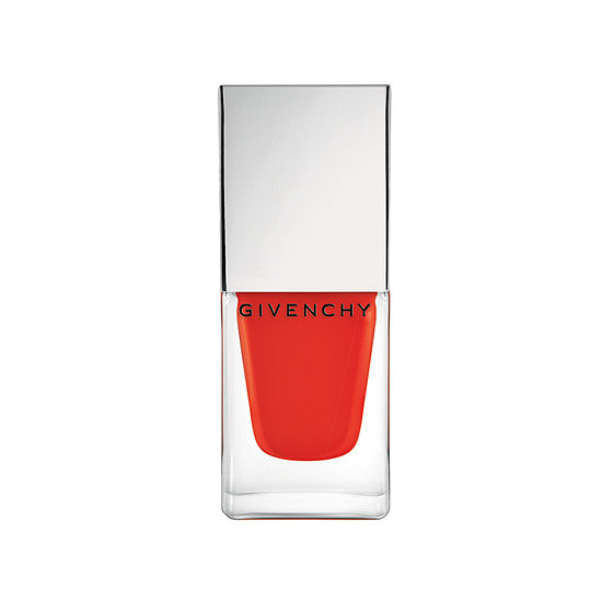 A juicy tangerine hue is perfect for Summer, and Givenchy Le Vernis Intense Color in Croisiére Mat Orange ($20) is a perfect alternative to classic red polish.