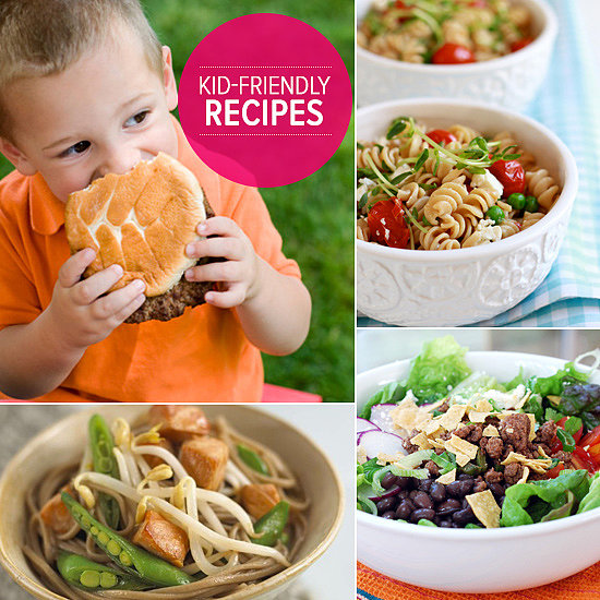 Kid friendly summer recipes popsugar moms for Fun kids dinner ideas