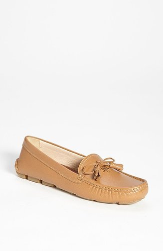 Prada Tasseled Moccasin Loafer