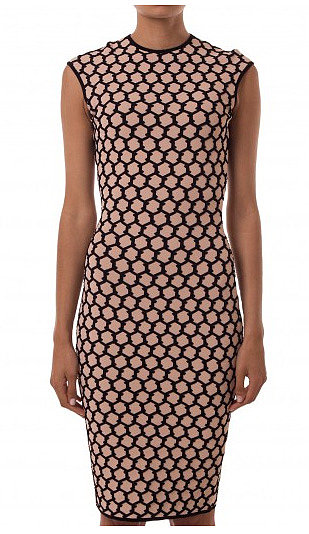 Sale time is a serious, serious threat to my bank account, but when I saw this Alexander McQueen Honeycomb number and might I add, half price, well I just had to have it. Now to find the shoes! — Stephanie, Health & Beauty Journalist. Dress, $875 from $1750, Alexander McQueen at Robby Ingham