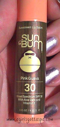 Sun Bum Pink Guava SPF Lip Balm