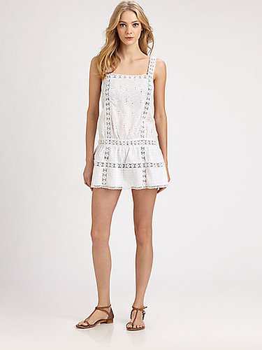 Onda De Mar Swim Cotton Eyelet Dress