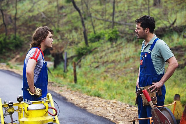 Prince Avalanche  Who's starring: Paul Rudd and Emile Hirsch Why we're interested: We get to see a mustache-sporting Rudd play the straight man to Hirsch's quirky character. When it opens: Aug. 9 Watch the trailer for Prince Avalanche.  Source: Magnolia Pictures