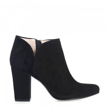 Opening Ceremony Penny suede ankle boots - Black