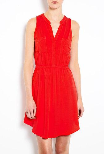 Splendid Sleeveless Pocket Shift Dress
