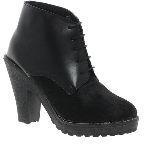Sole Society Leather Miles Ankle Boots