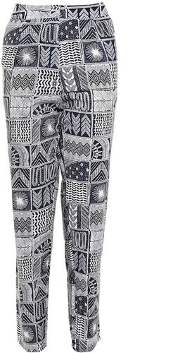 Mara Hoffman Rayon Patchwork Trousers