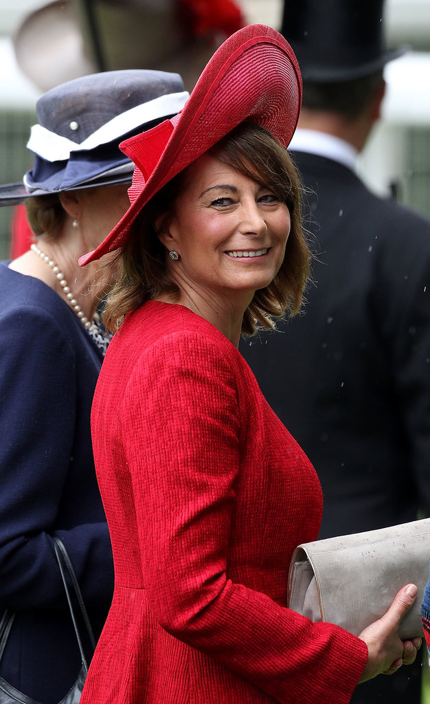Grandmother: Carole Middleton