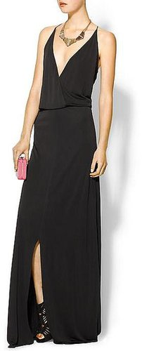 Rory Beca Hess Drape Wrap Gown