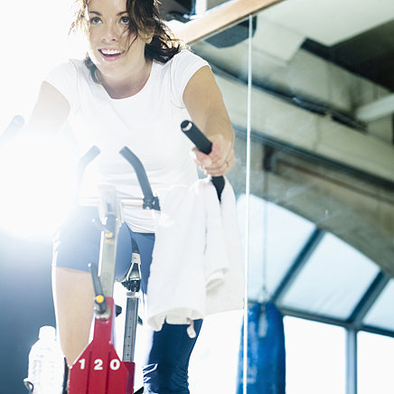 45-Minute Exercise Bike Workout