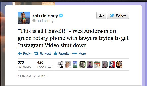 But how will the gauzy films of Wes Anderson compete, laments @robdelaney.