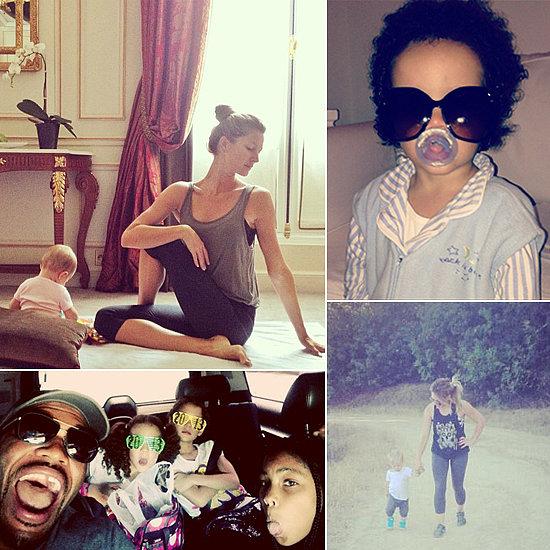 Celebrity Moms' Instagram Pictures Week of June 15, 2013