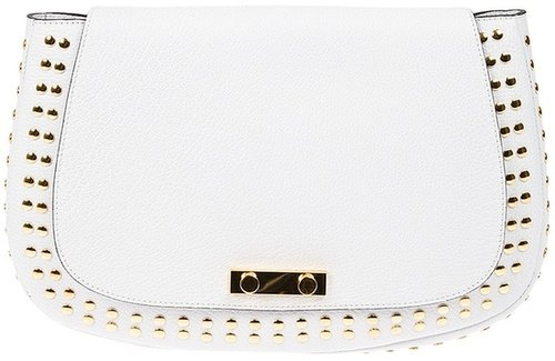 Marni studded clutch
