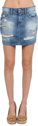 Joes Jeans High Rise Mini Skirt in Kikki