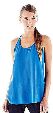 Joe FreshTM Silk Racerback Tank Top