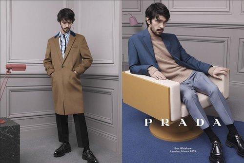 Prada Menswear Fall 2013