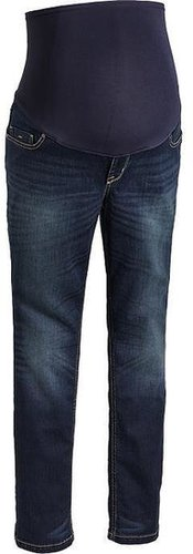 Maternity Smooth-Panel Skinny Jeans