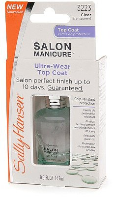 Sally Hansen Salon Manicure Smooth & Strong Top Coat Clear