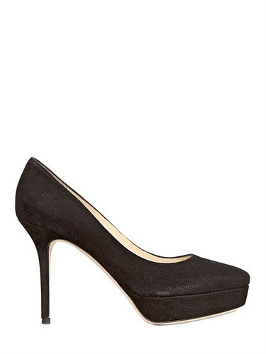 100mm Aster Suede Pumps