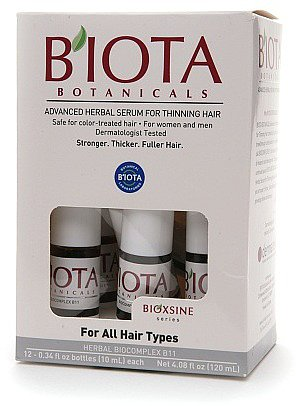 B'IOTA Botanicals Bioxsine Series Advanced Herbal Serum for Thinning Hair