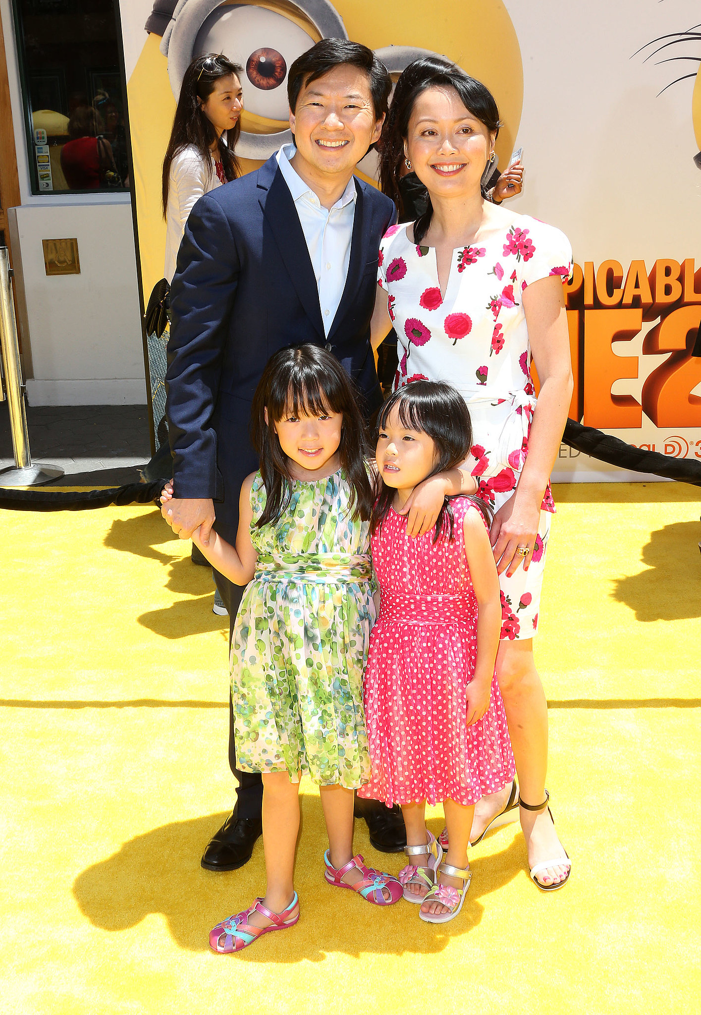 Ken Jeong and Family   Steve, Kristen and More Bring the ...