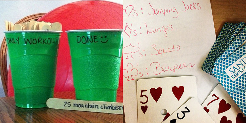 Fun Workout Ideas Fun Crafty Workout Ideas