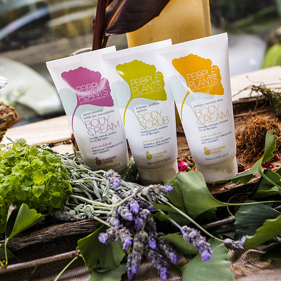 Review of People For Plants Skincare Range
