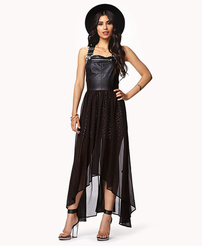 FOREVER 21 Overall High-Low Dress