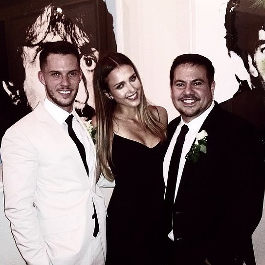 Jessica Alba's Narciso Rodriguez Wedding Instagrams