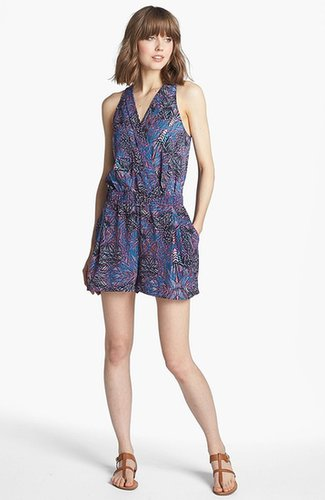 Trouve Pleated Romper