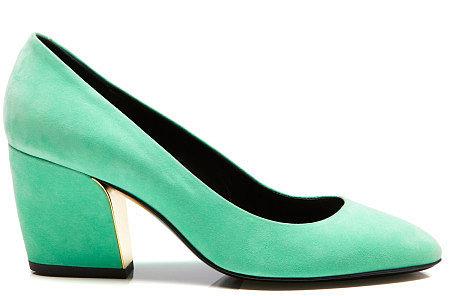 Preorder Pierre Hardy Mint Green Escarpin