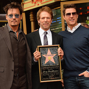 Celebrities at Jerry Bruckheimer Walk of Fame Ceremony