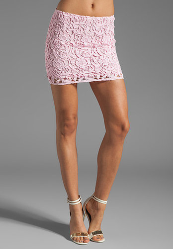 BB Dakota Sanford Lace Mini Skirt
