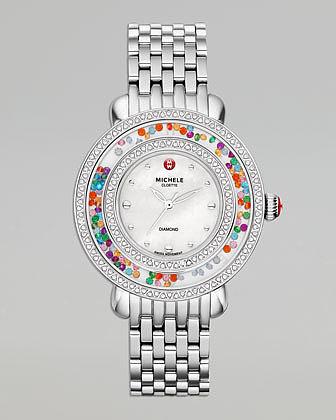 Michele Cloette Carnival Diamond Watch Head