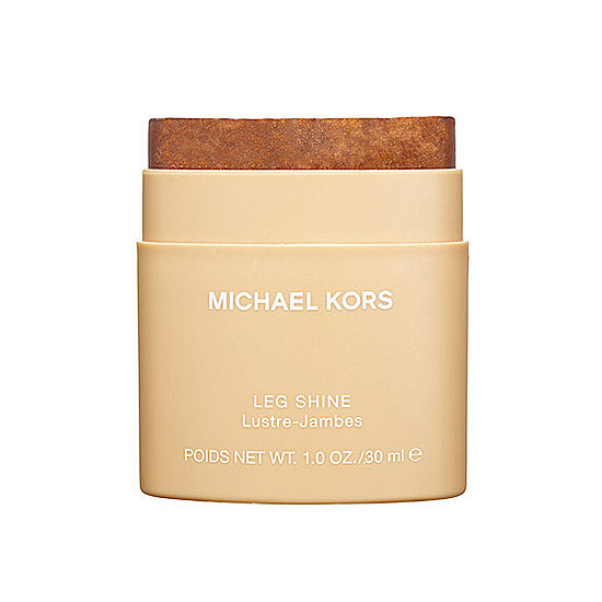 Baring legs after hibernation can be a little jarring. Give your gams a boost of instant color with Michael Kors Leg Shine ($10). Your legs will be radiant and glowing with a few quick swipes.