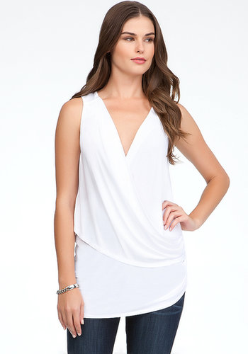 Asymmetric Drape Neck Top