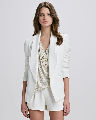 Haute Hippie Wide-Lapel Blazer
