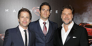 Henry Cavill, Russell Crowe and Zack Snyder Bring Man of Steel to Super-Excited Sydney