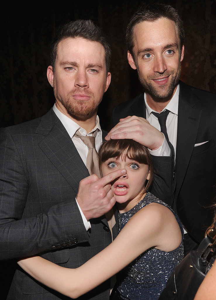 Channing Tatum had fun with his costar and onscreen daughter, Joey King, and his best friend, Reid Carolin, at the afterparty.