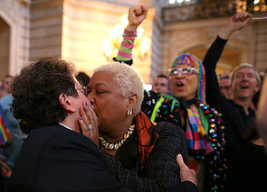 Same-sex-couples-kissed-embraced-after-DOMA-ruled