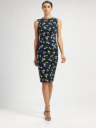 Carolina Herrera Radish Print Dress